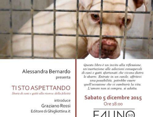 """""""Ti sto aspettando"""": un libro con le storie dei cani e dei gatti dei canili comunali di Roma"""