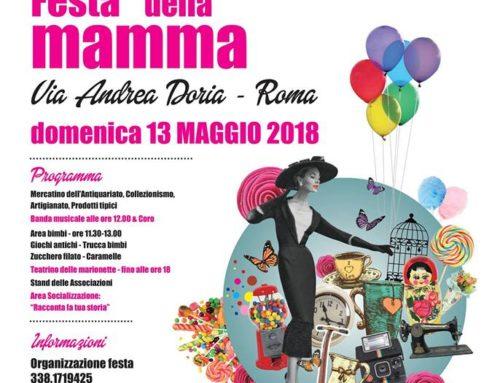 ECCO LE FOTO!FESTA DELLA MAMMA DOMENICA 13 MAGGIO 2018 Via Andrea Doria