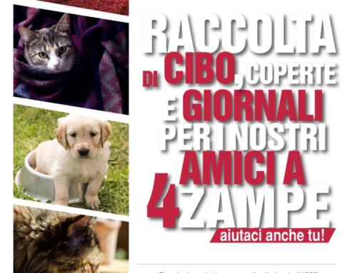 Donazioni dai clienti di PUPPIES Alimenti ed Accessori per cani e gatti